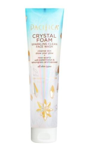 Sparkling crystal face wash